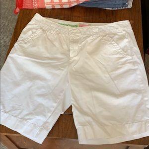 Lily Pulitzer white shorts!